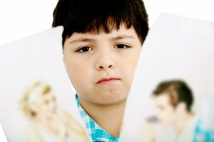 Divorce can be upsetting for children